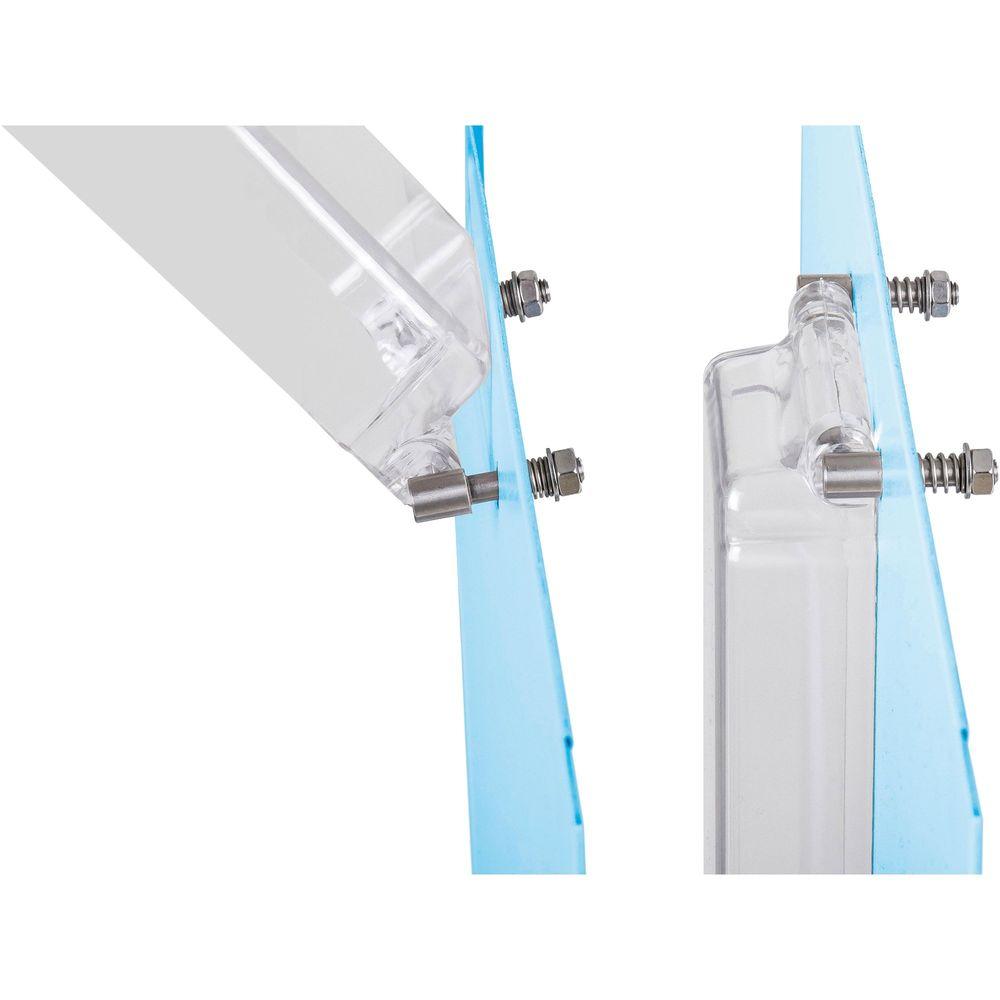 Spritzschutzkappe für Münzprüfer, mit flexibler Befestigung, 200x60x30mm (HxBxT) – Bild 2