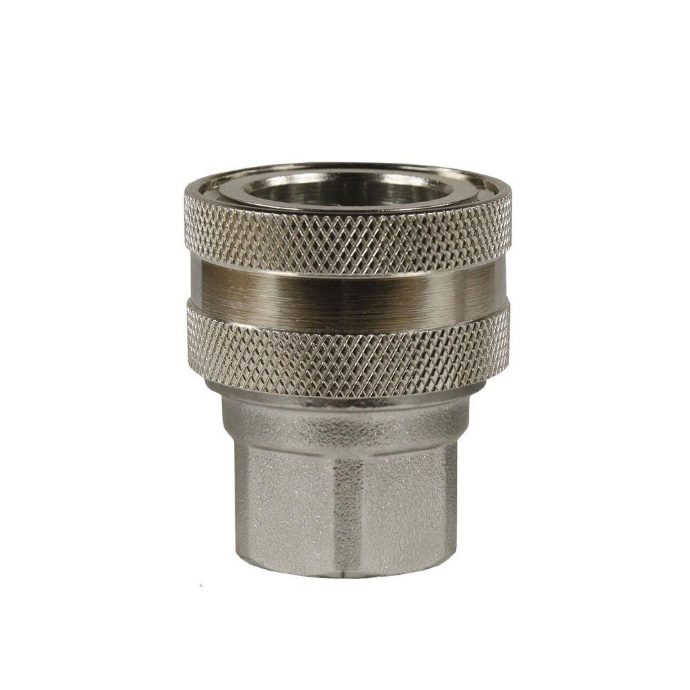 "Schnellkupplung ST-45, DN=10mm, E=3/8"" IG, max. 250bar, max. 150°C, Messing"
