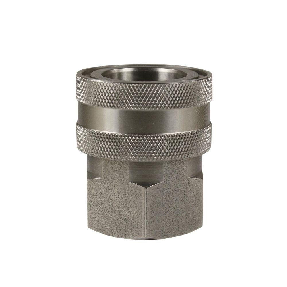 "Schnellkupplung ST-45, DN=10mm, E=1/2"" IG, max. 250bar, max. 150°C, Edelstahl"