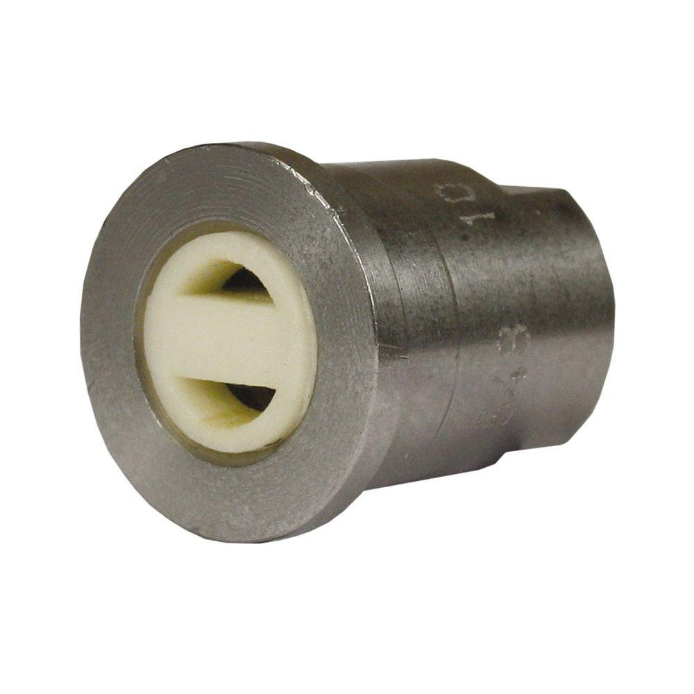 Luftinjektordüse für ST-75, D=1.6mm mit Strahlformer, max. 350 bar, max. 100°C, Edelstahl