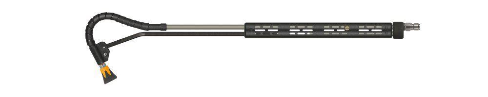 kommunal365+ push-&-pull Lanze, E=Stecknippel ST-3100, A=Düsenschutz ST-10, Länge=600mm, max. 210 bar, max. 150°C, Edelstahl – Bild 2