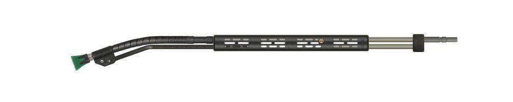easyfarm365+ push-&-pull Lanze, E=Stecknippel KW, A=Düsenschutz ST-10, Länge=600mm, max. 210 bar, max. 150°C, Edelstahl – Bild 1
