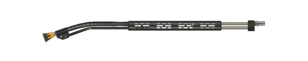 kommunal365+ push-&-pull Lanze, E=Stecknippel ST-3100, A=Düsenschutz ST-10, Länge=1000mm, max. 210 bar, max. 150°C, Edelstahl – Bild 1