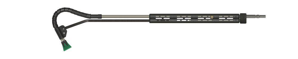 easyfarm365+ push-&-pull Lanze, E=Stecknippel KW, A=Düsenschutz ST-10, Länge=1500mm, max. 210 bar, max. 150°C, Edelstahl – Bild 2
