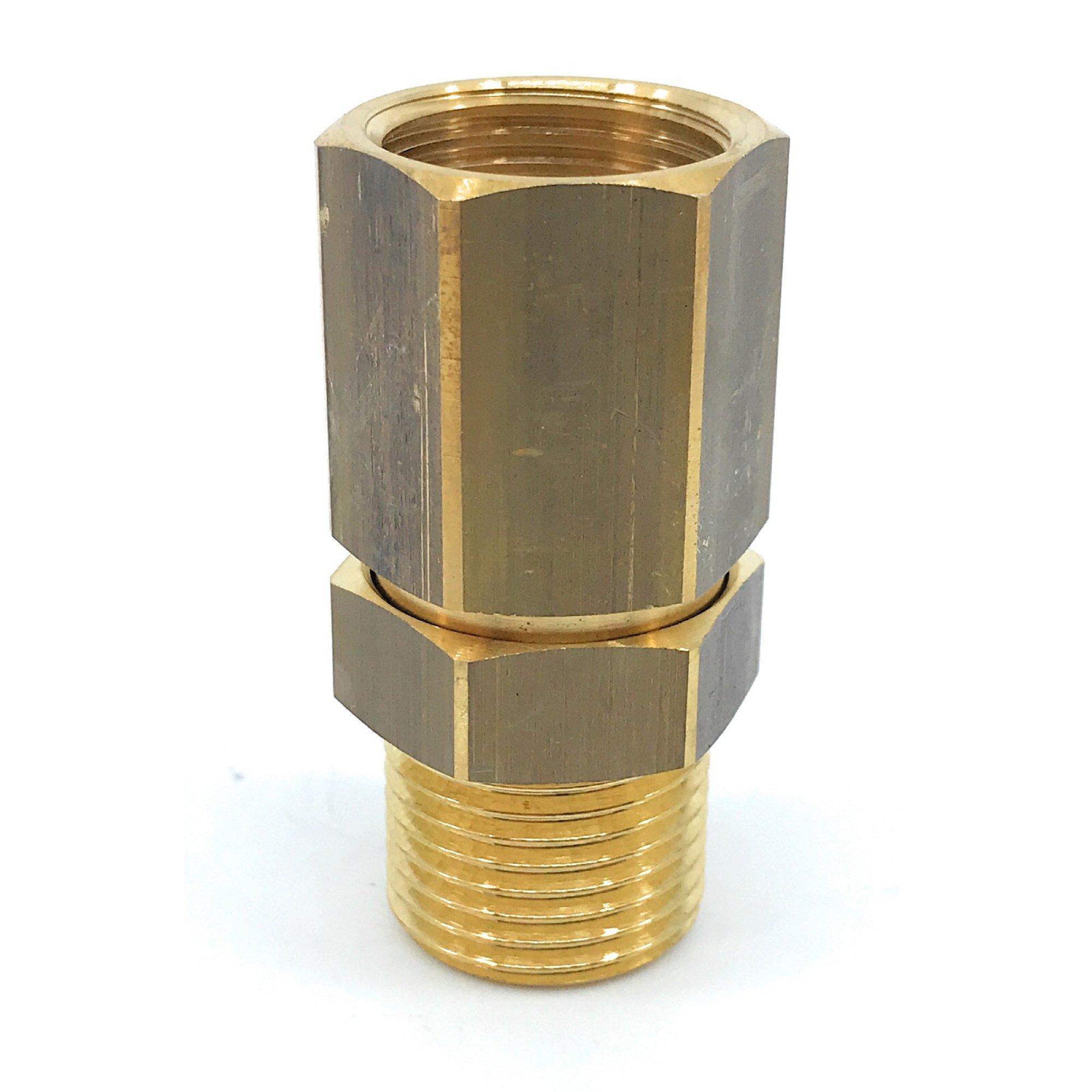 Suttner Drehgelenk ST 340, 1/2 Zoll IG - 1/2 Zoll AG, Messing, max. 220 bar, max. 90°C Drehgelenk 1/2IG-1/2AG ST-340 MS |