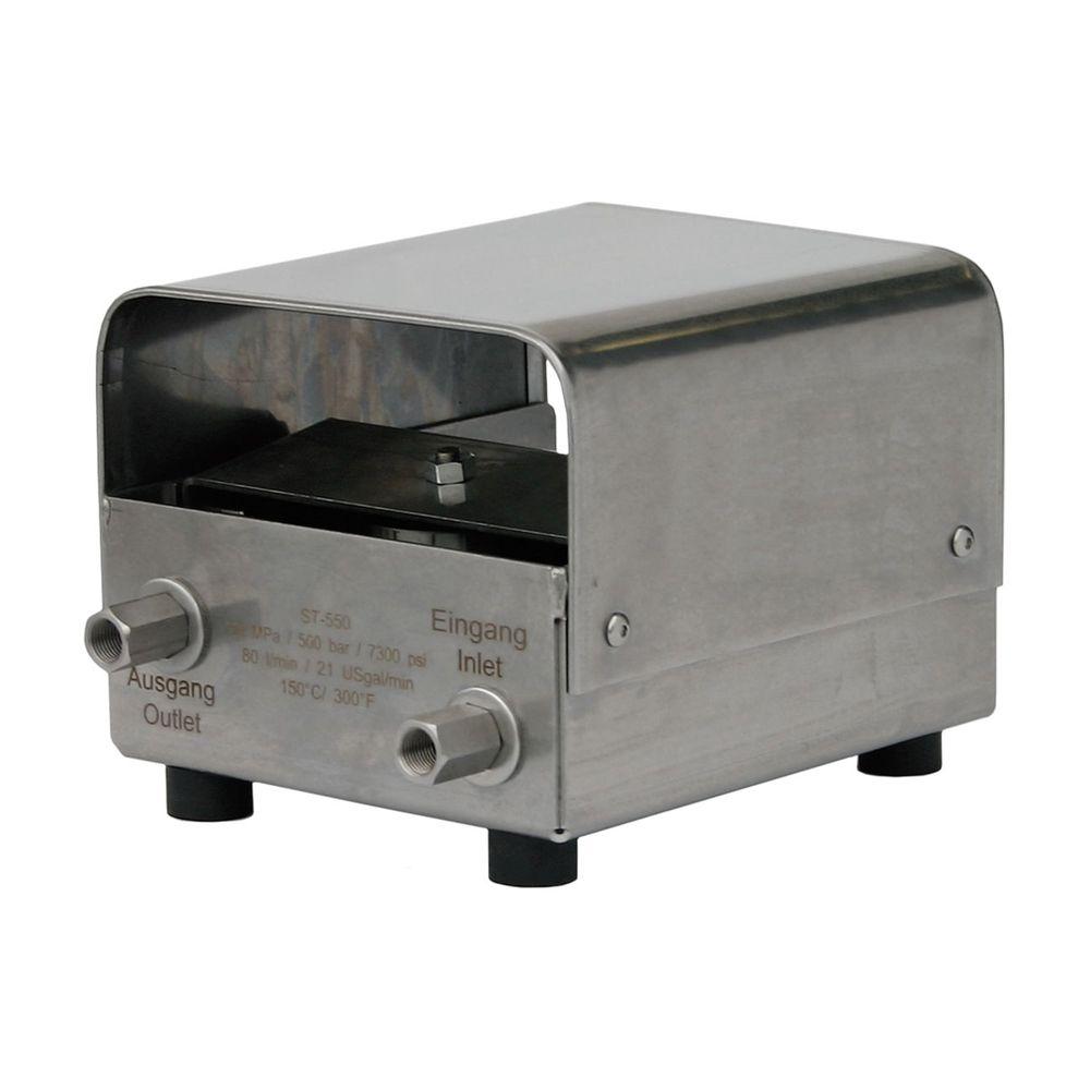 Fußschalter ST-550, max. 500 bar, max. 150°C, max. 80 L/min