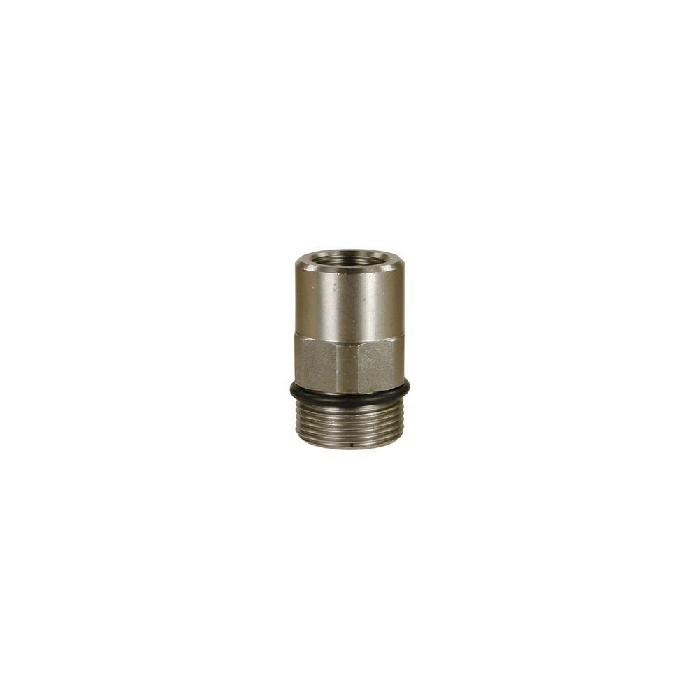 """Stecknippel ST-741, E=1/4"""" IG, A=M24 AG, max. 700bar, mac. 150°C, Edelstahl"""