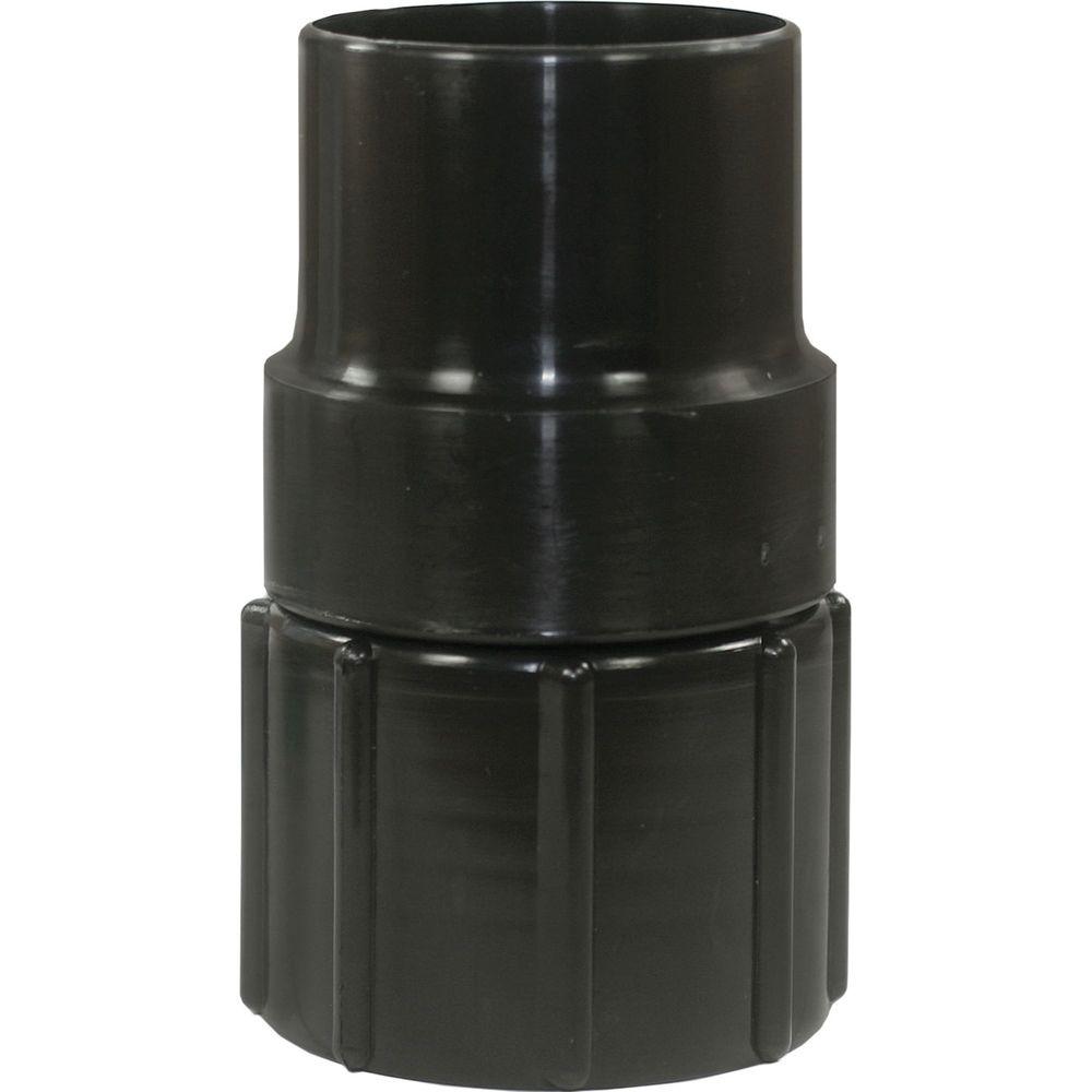 Muffe Schlauch D=50mm auf Zubehör D=58mm, drehbar, PVC