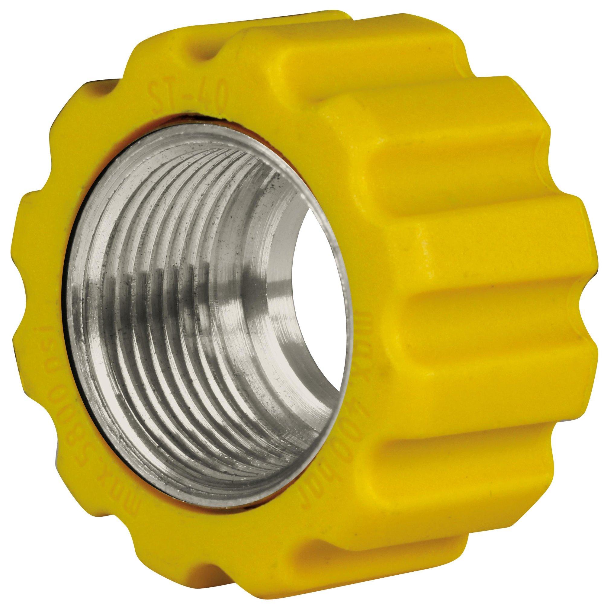 R+M de Wit Überwurfmutter 22x1,5 16,4 mm Gelb VA