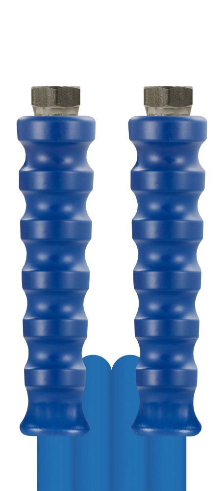 10m HD-Schlauch 1SN, DN06, blau, 3/8 Zoll Innengewinde auf 3/8 Zoll Innengewinde, max. 150°C, max. 210bar