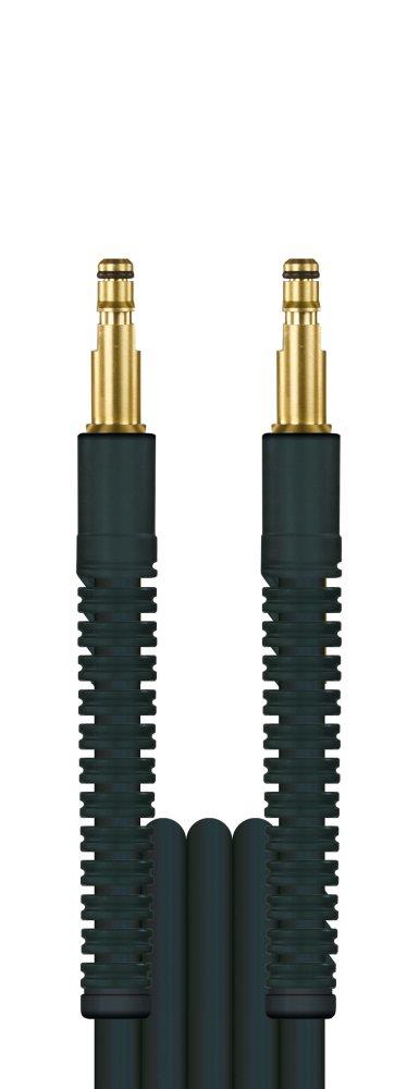10m HD-Schlauch Flexy, DN6, schwarz, Stecknippel 8,8mm auf Stecknippel 8,8mm, max. 100°C, max. 300bar