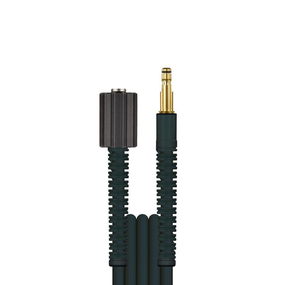 10m HD-Schlauch Flexy, DN6, schwarz, M22 Überwurf auf Stecknippel 8,8mm, max. 100°C, max. 300bar