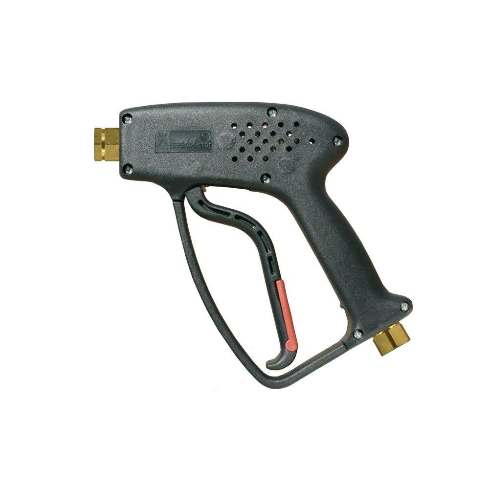 "HD-Pistole Speck Star, E=3/8"" IG, A=1/4"" IG, max. 280 bar, max. 150°C, max. 40 L/min"