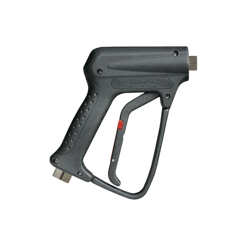 """HD-Pistole R+M Ecoline, E=3/8"""" IG, A=1/4"""" IG, max. 250 bar, max. 150°C, max. 45 L/min"""