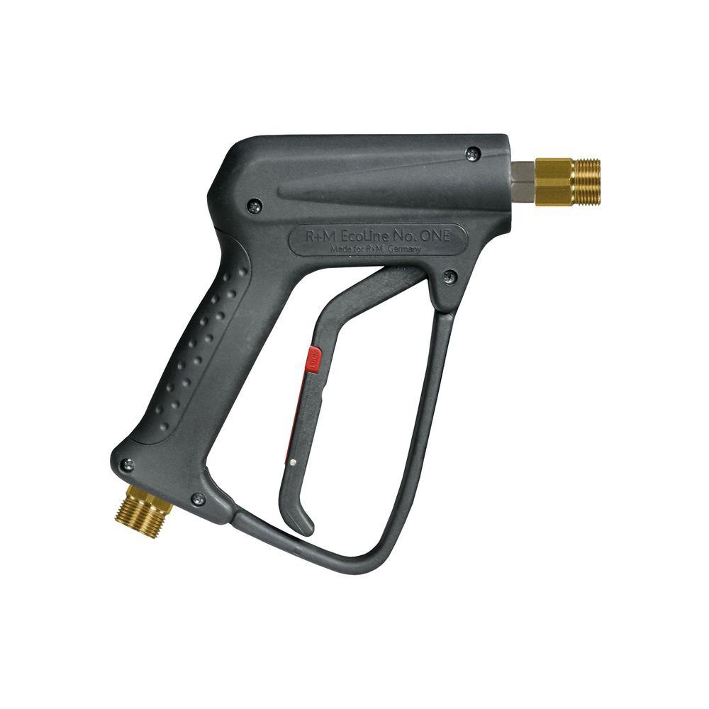 HD-Pistole R+M Ecoline, E=M22 AG, A=M22 AG, max. 250 bar, max. 150°C, max. 45 L/min