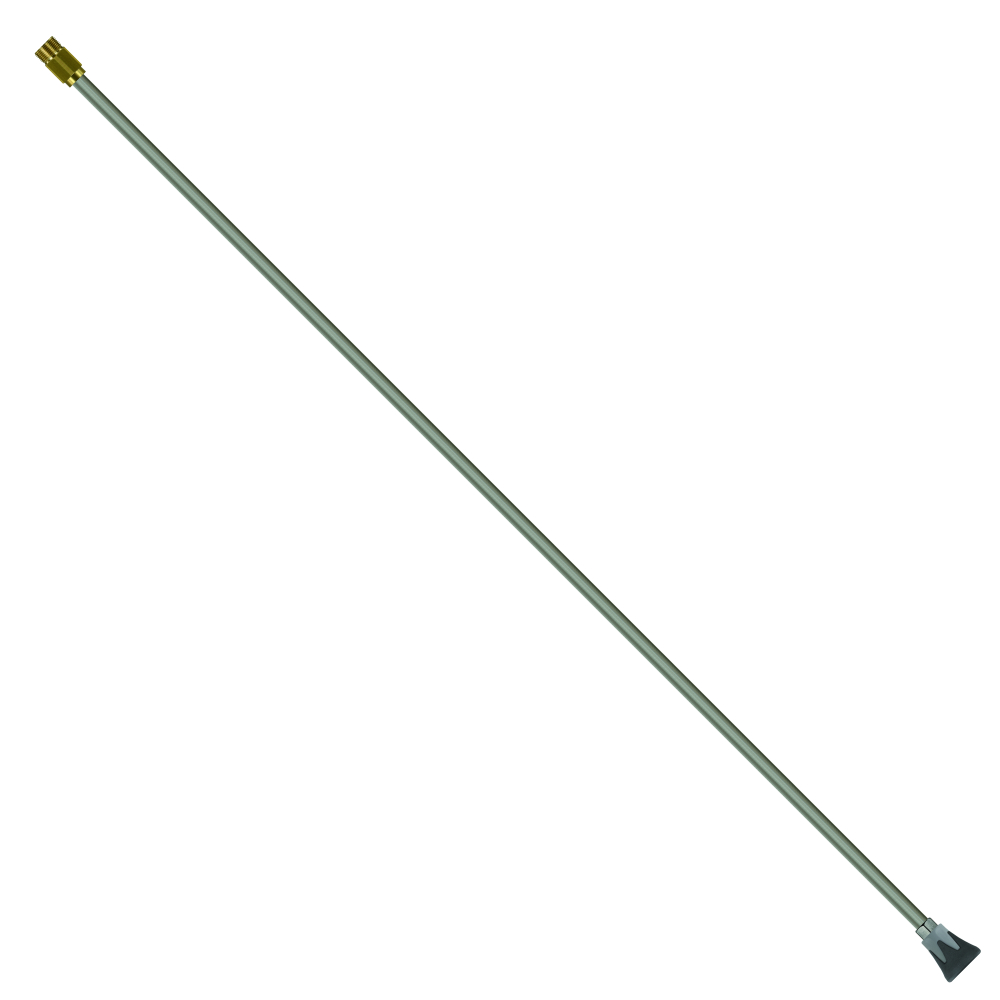 "Düsenrohr 1500 mm, E=M22 AG, A=Düsenschutz ST-.10 1/4"" IG NPT, L=1500 mm, max. 400 bar, max. 150°C, Edelstahl"