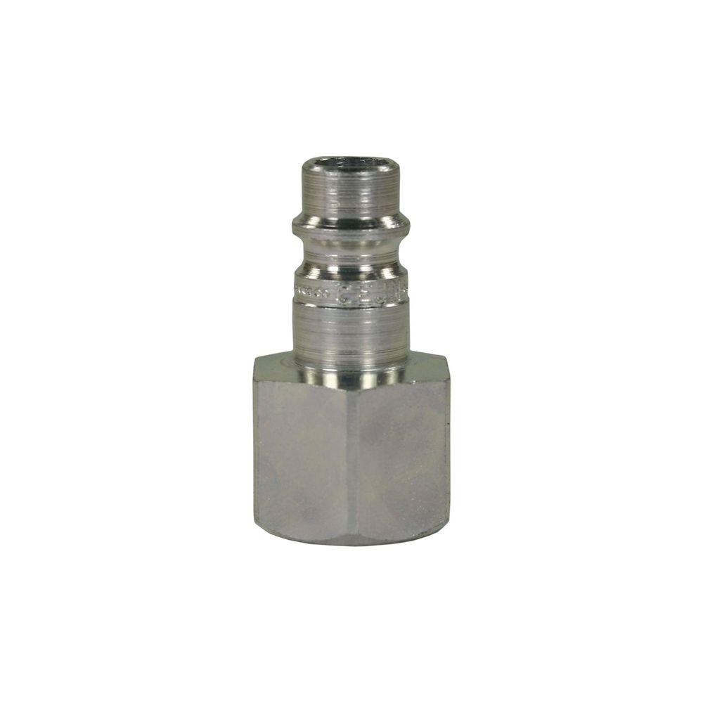 """Schnellkupplungsnippel CR, DN=7,4mm, E=3/8"""" IG, max. 250bar, max. 100°C, Stahl vern."""