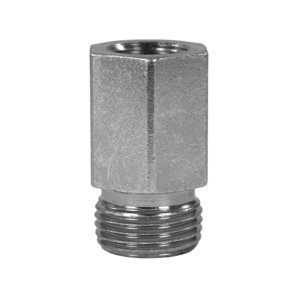 """Aufschraubverschraubung M12x1,5 AG - 1/4"""" IG, max. 250bar,Stahl verzinkt"""