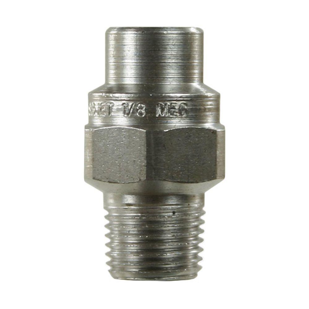 Hochdruckdüse Spraying Systems, 1/8 Zoll AG NPT, Aufprallkraft 100%