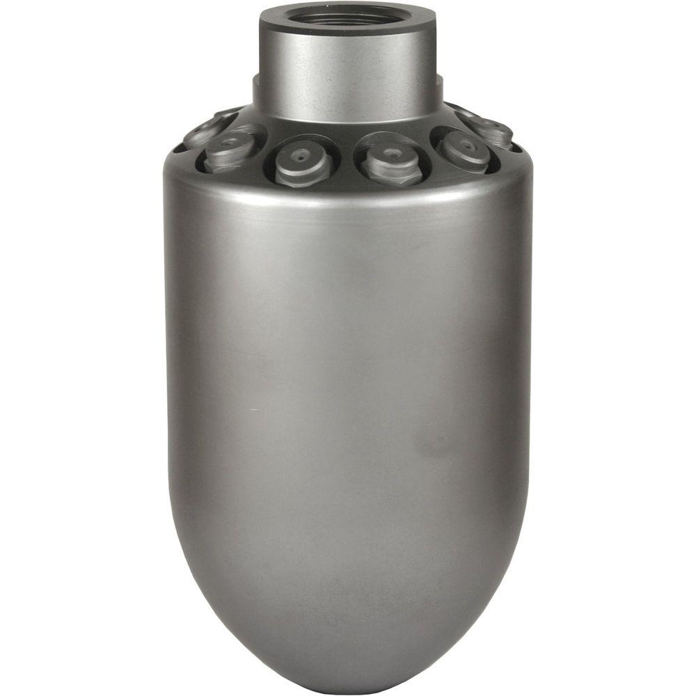 Bombendüse BA, Typ 406, 1/2 Zoll Innengewinde, 6 x Rückstrahl, max. 250 bar, Edelstahl