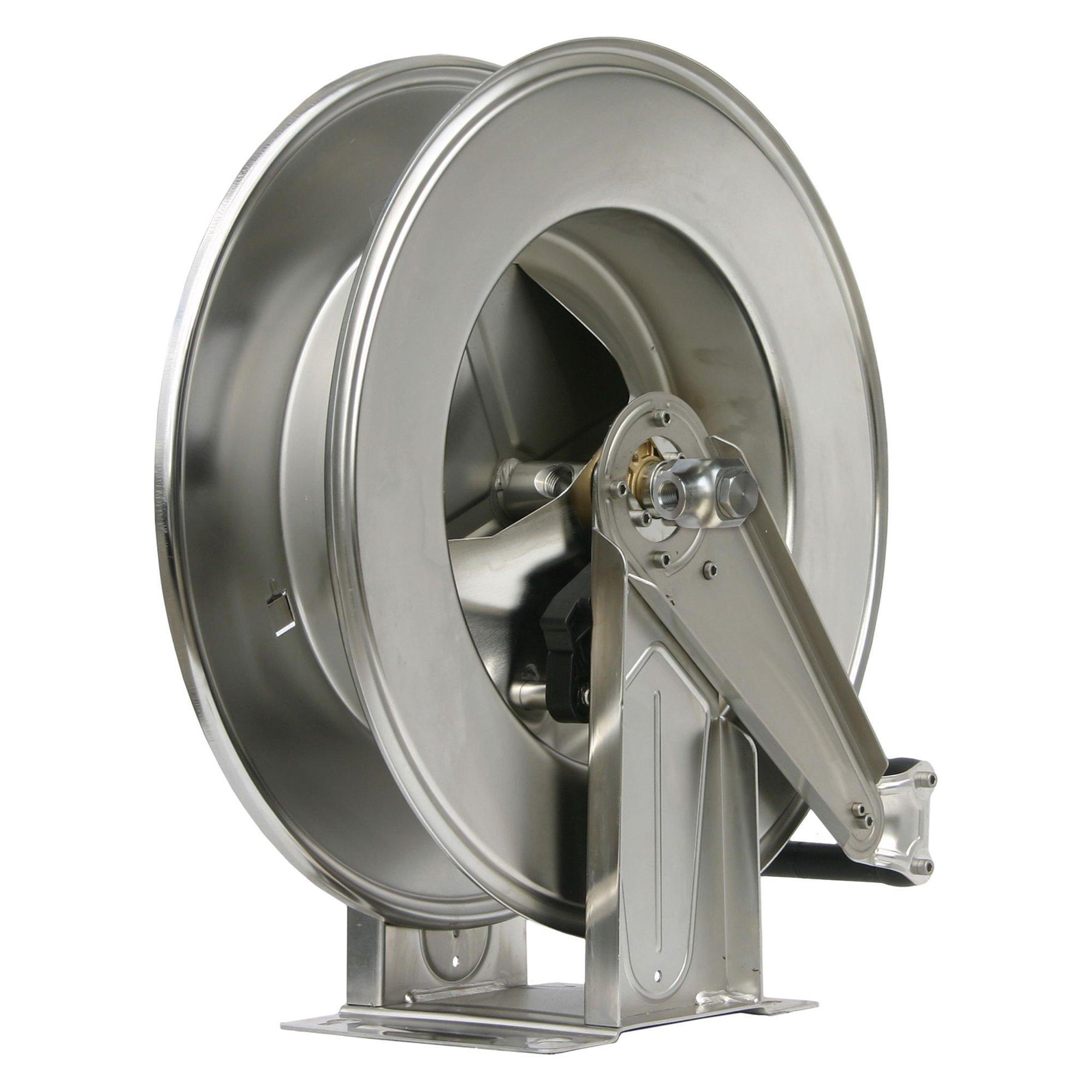 R+M de Wit Schlauchaufroller R+M, max. 300 bar, max. 90°C, Edelstahl Schlauchaufr. 28M. 1/2-1/2IG VA 300 bar |