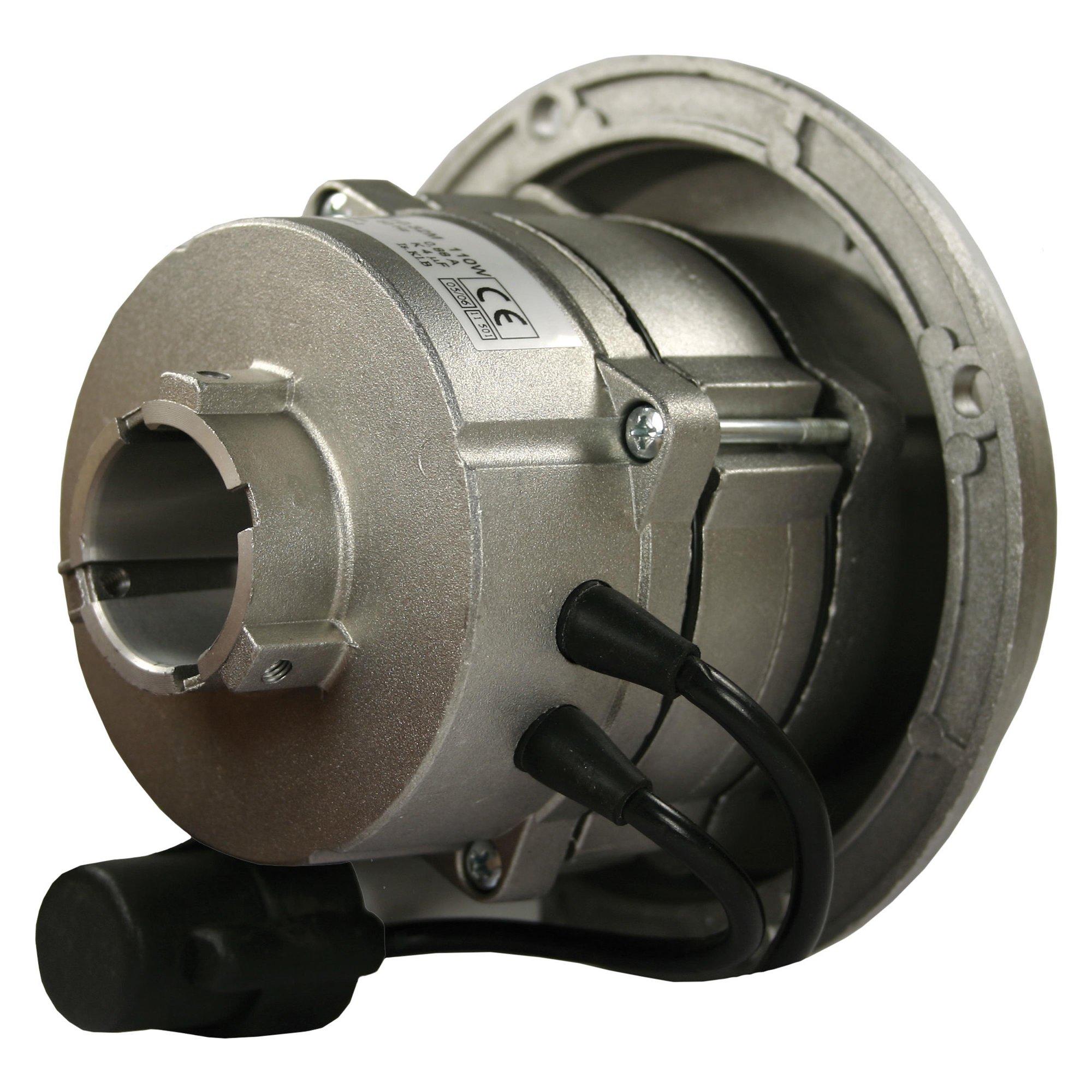 Markenlos Brennermotor mit Flansch u. Pumpenaufn. 32mm; 110W; 230V/50Hz Brennermotor 110 W 230V 50Hz F   60.2.110.32 MDIC
