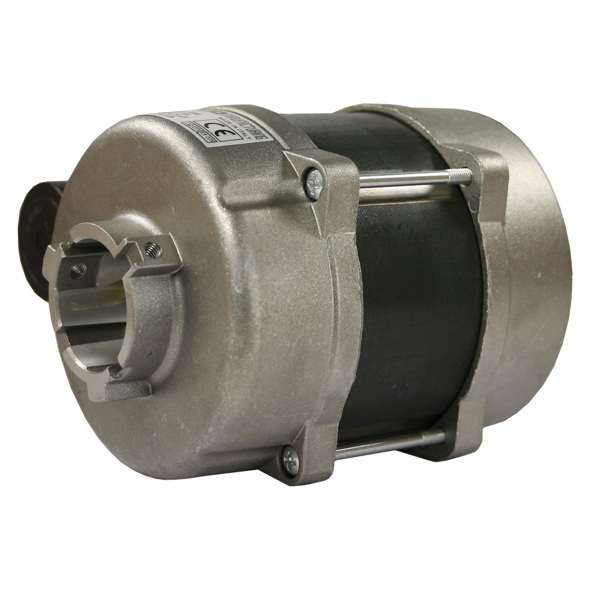 Markenlos Brennermotor mit Pumpenaufn. 32mm; 150W; Drehrichtung R+L; 230V/50Hz Brennermotor 150 W R+L 230V 50Hz