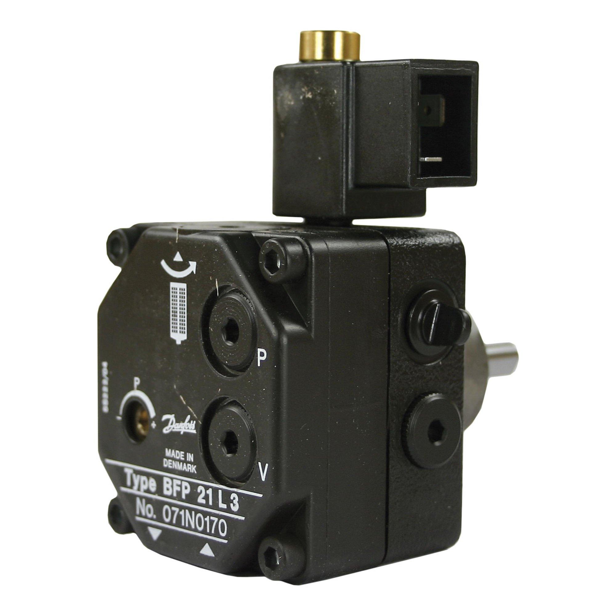 Ölpumpe Danfoss, Typ BFP21R3, 230V/50Hz, Nabe=32mm, Rechts Ölpumpe Danfoss BFP 21R3 230 V | für MSLA 032 + MS 11 R 3