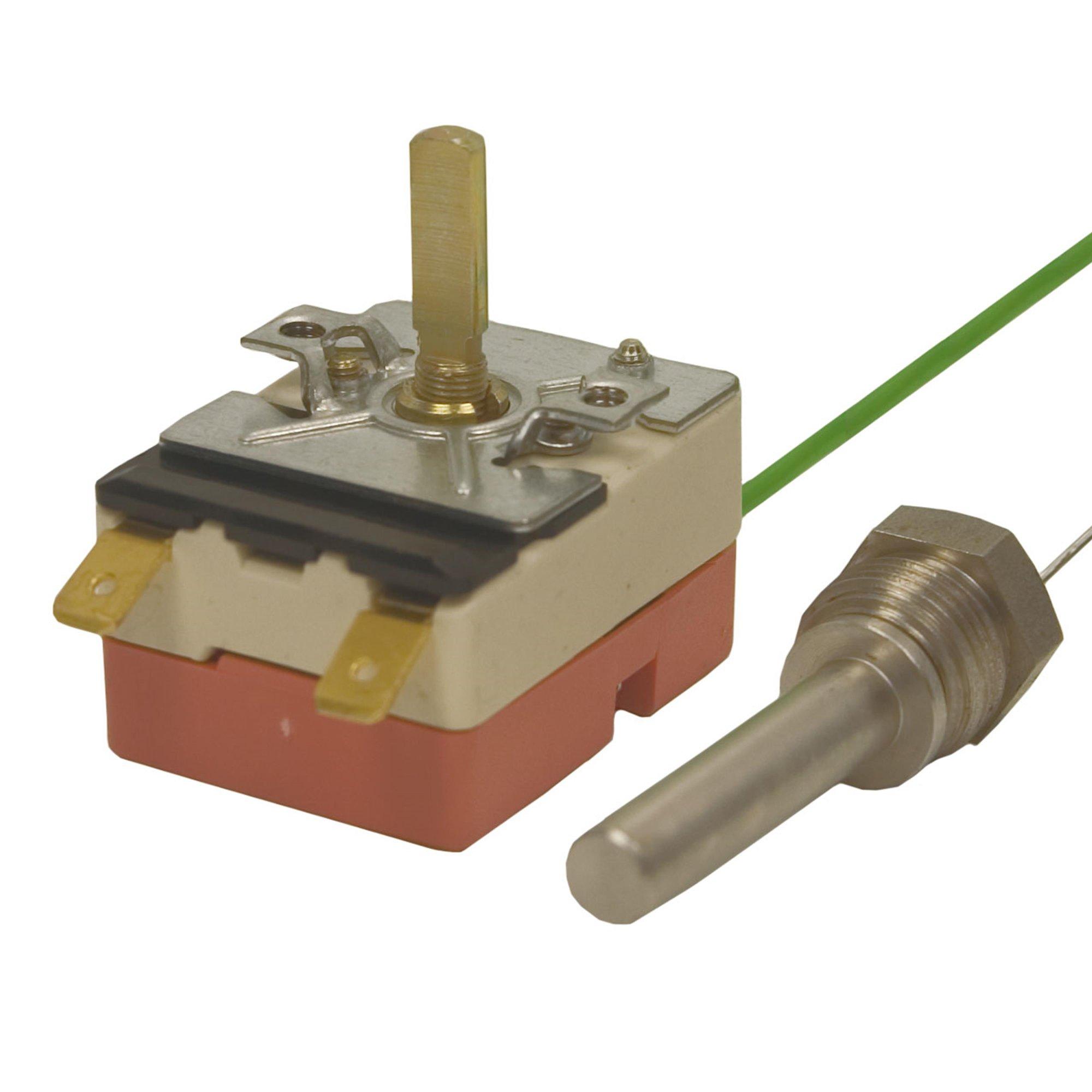 """R+M de Wit Thermostat Fühler mit 3/8"""" AG, 16A - 380V Thermostat 30-150°C 3/8"""