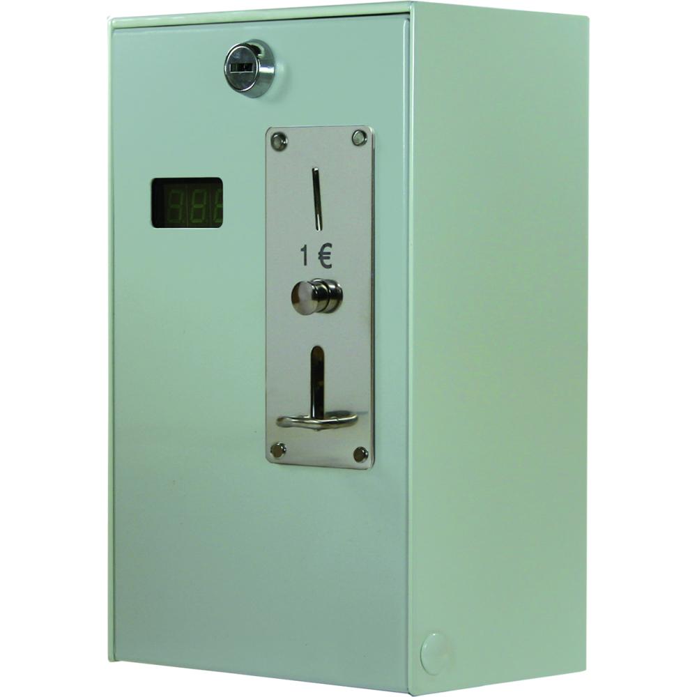 Münzautomat EMS 56, 24 V / 50 Hz mit mechan. Münzprüfer 2€, 260x160x110mm (HxBxT)