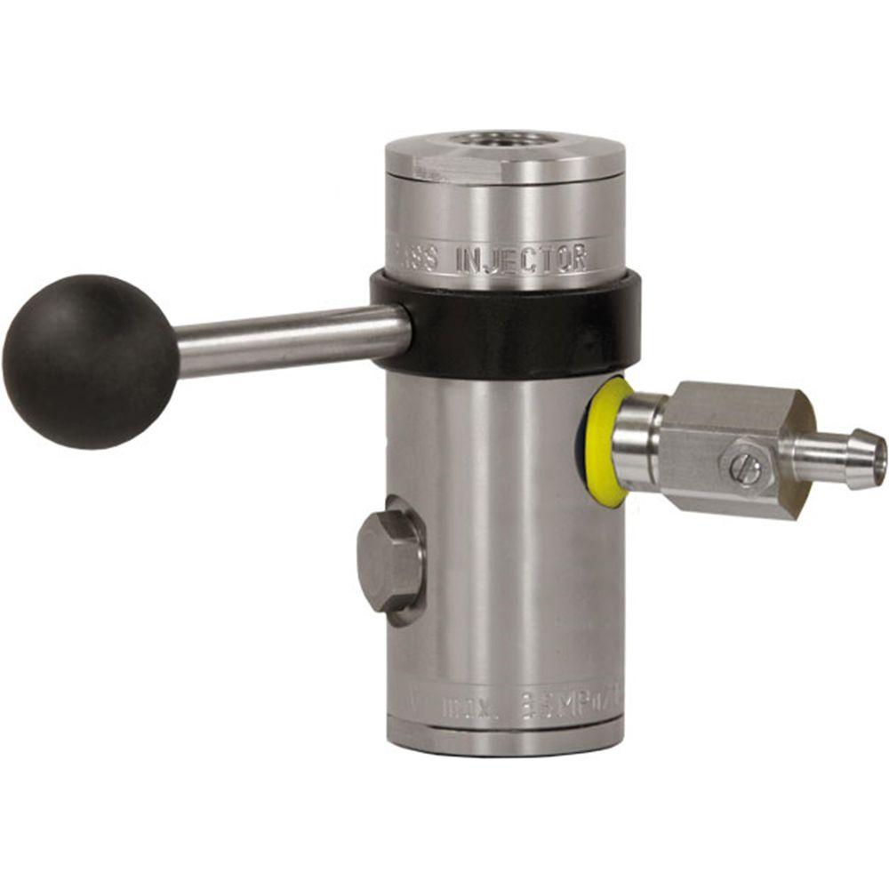 "easyfoam365+ Bypass Injektor ST-167 mit Dosierventil ""extreme"", ohne Druckluftmodul, E/A= 1/2"" IG, D=1.2 mm, max. 350 bar, max. 100°C, Edelstahl"