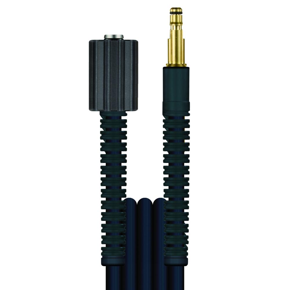 5m HD-Schlauch Flexy, DN6, schwarz, M22 Überwurf auf Stecknippel 8,8mm, max. 100°C, max. 300bar