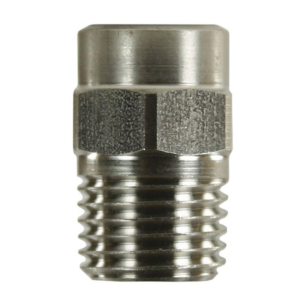 Keramikhochdruckdüse, 1/4 Zoll AG NPT, Aufprallkraft 100%, max 300 bar, max 125°C – Bild 1