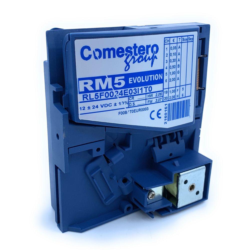 Comestero Münzprüfer RM5 Variante F, wetterfest inkl. Programmierung ( Mustermünzprüfer wird benötigt ) – Bild 1