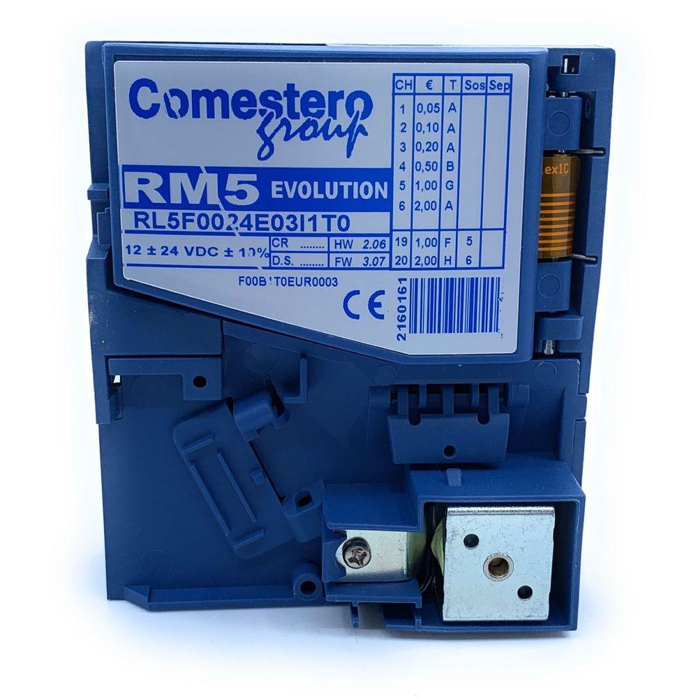 Comestero Münzprüfer RM5 Variante F, wetterfest inkl. Programmierung ( Mustermünzprüfer wird benötigt ) – Bild 4