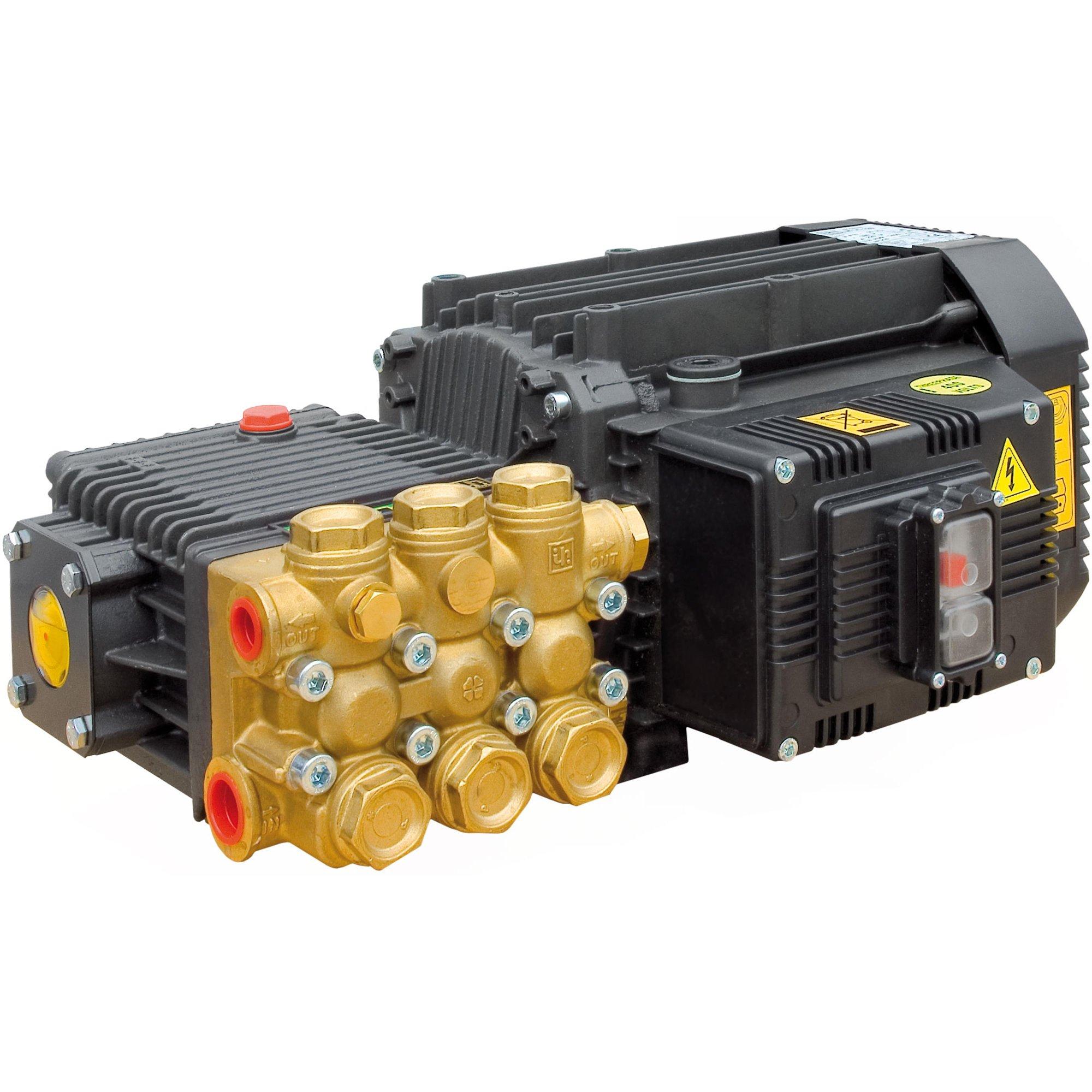 Interpump Motorpumpe M 14-120 14L 120B 380 V mit | Schalter+ Kabel+ULH+Injektor Motorpumpe M 14-120 14L 120B 400 V mit | Schalter+ Kabel+ULH+Injektor