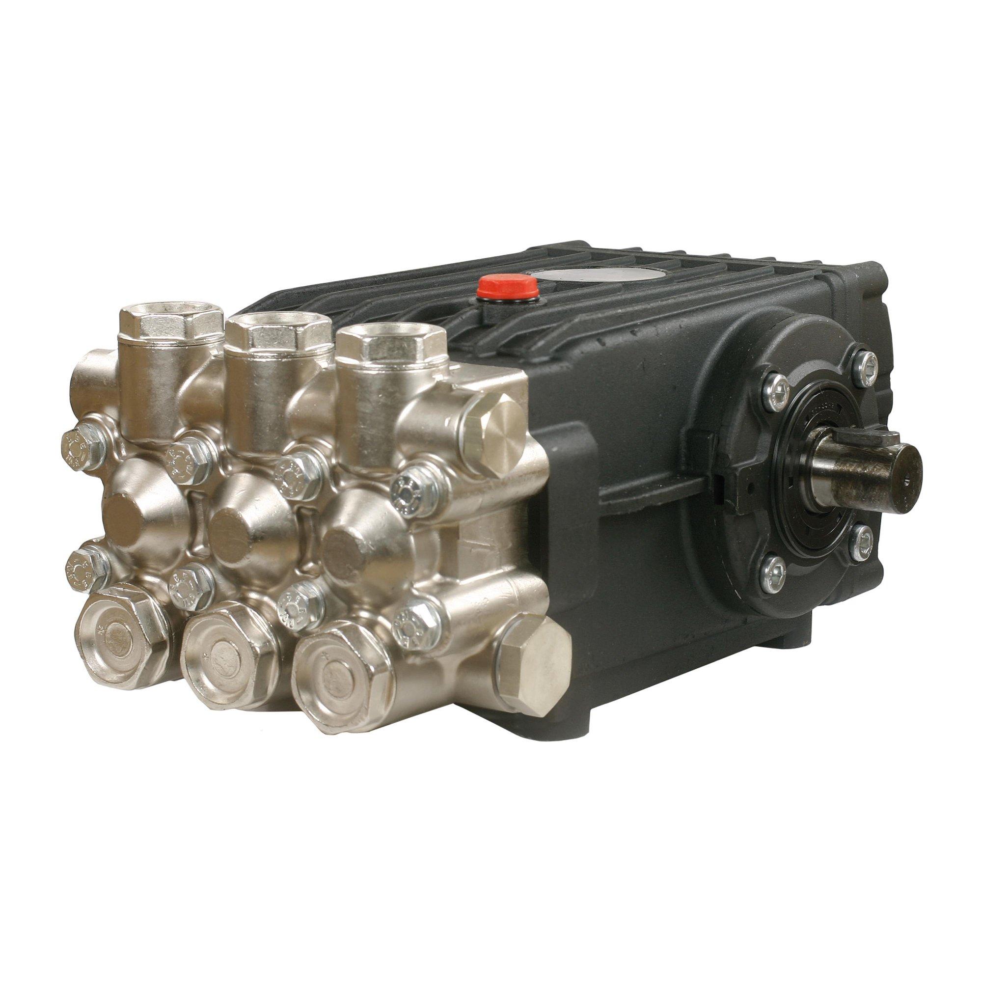 Interpump Pumpe HT 6646S, max. 46L/min, max. 170 bar, 1450 U/min, 14,7 kW, Welle links Pumpe HT 6646S 46L 170B 1750 UPM   Welle links