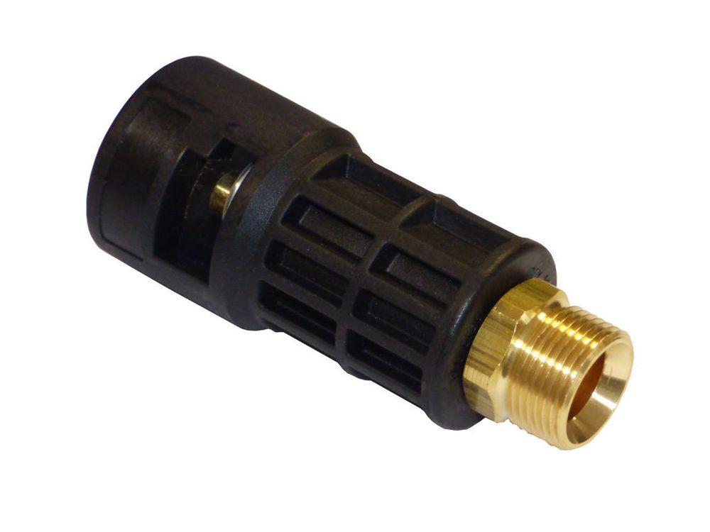 Set: Adapter B von Kärcher Bajonett K - M22 Aussengewinde für Kränzle u.a  – Bild 2