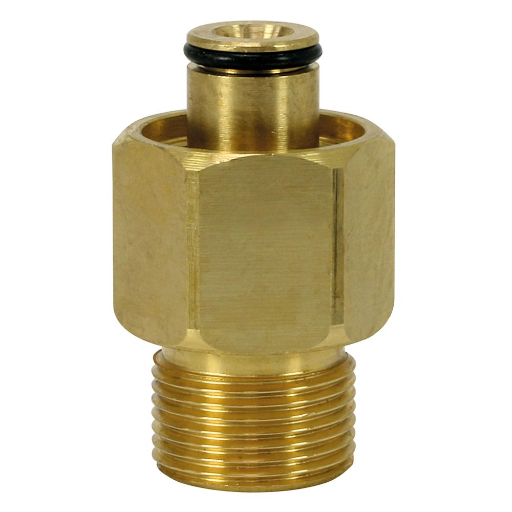 Adapter EASY!Lock Verbinder für Kärcher Hochdruckreiniger, M22 Aussengewinde auf M22 Easy!Lock